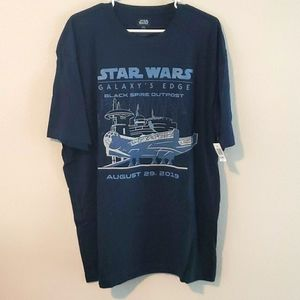 STAR WARS GALAXY'S EDGE T- SHIRT. SZ XXL
